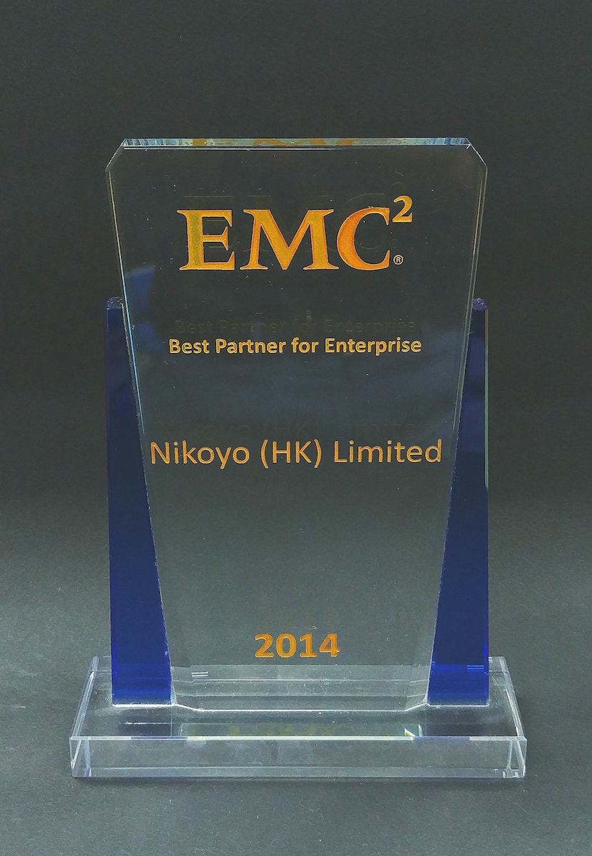 2014 EMC Best Partner for Enterprise