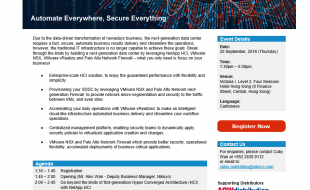 Automate Everywhere, Secure Everything Seminar